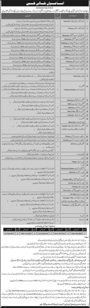 Public Sector Scientific and Technical Organization KRL hr1384 Jobs November 2020