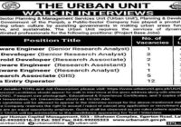 The Urban Unit Latest Jobs November 2020 Walk in Interviews